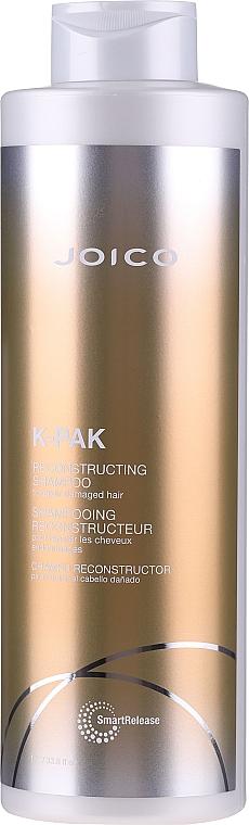 Șampon cu efect revitalizant pentru păr deteriorat - Joico K-Pak Reconstruct Shampoo — Imagine N1
