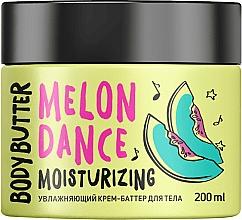 """Parfumuri și produse cosmetice Cremă-unt hidratantă """"Pepene galben"""" pentru corp - MonoLove Bio Melon Dance Body Butter"""