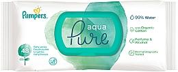 Parfumuri și produse cosmetice Șervețele umede pentru copii, 48 buc - Pampers Aqua Pure Wipes