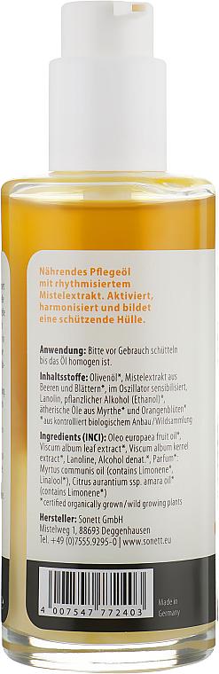 """Ulei organic pentru masaj """"Mirt și Floare de portocal"""" - Sonnet Massage Oil — Imagine N2"""