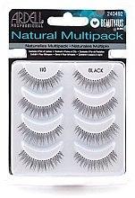 Parfumuri și produse cosmetice Extensii gene - Ardell Natural Multipack Black 110