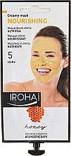 Parfumuri și produse cosmetice Mască de față - Iroha Nature Nourishing Honey Creamy Mask