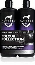 Parfumuri și produse cosmetice Set - Tigi Catwalk Fashionista, Blonde (shm/750ml + cond/750ml)