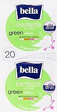 Parfumuri și produse cosmetice Absorbante Perfecta Green Drai Ultra, 2x10 bucăți - Bella