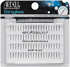 Parfumuri și produse cosmetice Set gene false - Ardell Singles Regular Short Black Lashes
