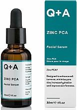 Parfumuri și produse cosmetice Ser pentru față - Q+A Zinc PCA Facial Serum