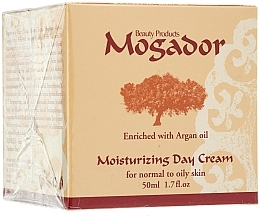 Parfumuri și produse cosmetice Cremă hidratantă de zi pentru ten normal și gras - Mogador Moisturizing Day Cream