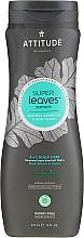 Șampon-gel de duș - Attitude Super Leaves Natural Shampoo & Body Wash 2-in-1 Scalp Care — Imagine N1