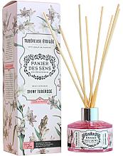 "Parfumuri și produse cosmetice Difuzor aromatic ""Tuberoza"" - Panier Des Sens Shiny Tuberose Reed Diffuser"