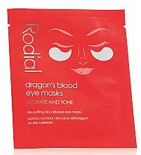 Parfumuri și produse cosmetice Mască-patchuri pentru zona din jurul ochilor - Rodial Dragon's Blood Eye Masks