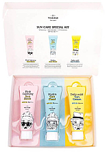 Parfumuri și produse cosmetice Set - Village 11 Factory Sun Care Special Kit (fluid/25ml + block/25ml + cream/25ml)