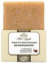 """Parfumuri și produse cosmetice Săpun organic cu mucus de melc """"Grapefruit"""" - Mlle Agathe"""