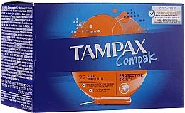 Parfumuri și produse cosmetice Tampoane cu aplicator, 22 buc - Tampax Compak Super Plus