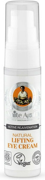 "Cremă Lifting pentru ochi ""Reîntinerire activă"" - Reţete bunicii Agafia White Agafia Natural Lifting Eye Cream — Imagine N3"