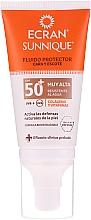 Parfumuri și produse cosmetice Fluid cu protecție solară - Ecran Sun Lemonoil Face And Neck Fluid Spf50