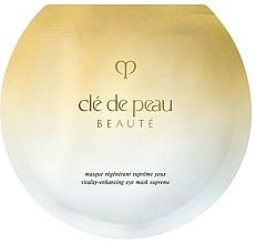 Parfumuri și produse cosmetice Mască regenerantă pentru zona ochilor - Cle De Peau Beaute Vitality-Enhancing Eye Mask Supreme