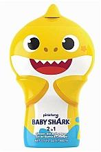 Parfumuri și produse cosmetice Șampon-gel de duș 2D - Air-Val International Baby Shark Shower Gel & Shampoo 2D