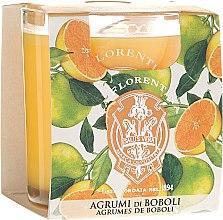 """Parfumuri și produse cosmetice Lumânare aromatică """"Citrus"""" - La Florentina Boboli Citrus Scented Candle"""