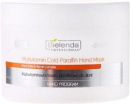 Parfumuri și produse cosmetice Mască multivitaminică pentru mâini - Bielenda Professional Multivitamin Cold Paraffin Hand Mask