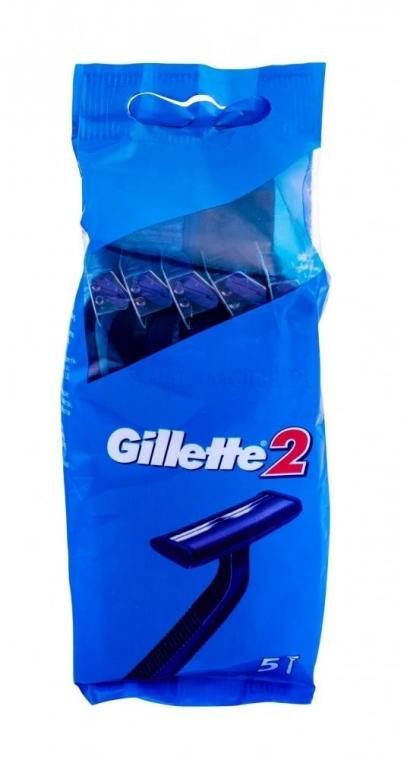 Set Aparat de ras de unică folosință, 5 buc - Gillette 2 — Imagine N1