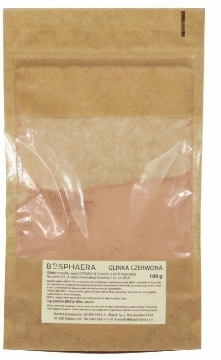 Argilă roșie pentru față - Bosphaera Red Clay — Imagine N2