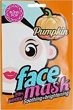 Parfumuri și produse cosmetice Mască cu extract de dovleac pentru față - Bling Pop Pumpkin Smoothing & Brightening Mask