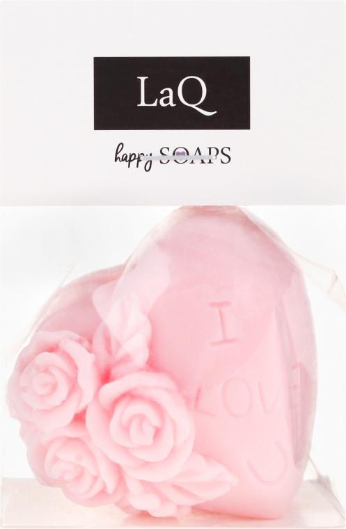 "Săpun natural ""Te iubesc"" cu aromă de vișine - LaQ Happy Soaps Natural Soap"