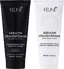 Parfumuri și produse cosmetice Keratină pentru îndreptarea părului - Keune Keratin Straightening Rebonding System Normal