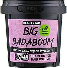 "Parfumuri și produse cosmetice Șampon pentru volum ""Big Badaboom"" - Beauty Jar Shampoo For Hair Volume"