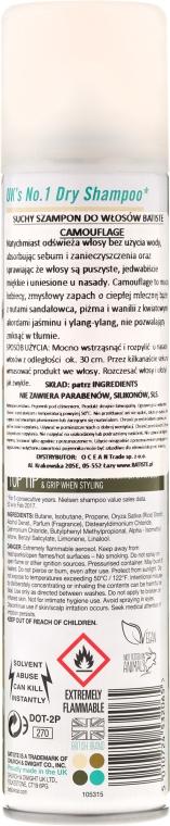 Șampon uscat - Batiste Powerful and Bold Camouflage Dry Shampoo — Imagine N2