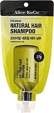 Parfumuri și produse cosmetice Șampon de păr - Alice Koco Premium Natural Hair Shampoo