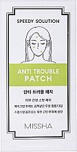 Parfumuri și produse cosmetice Patch-uri de vindecare pentru combaterea acneei - Missha Speedy Solution Anti Trouble
