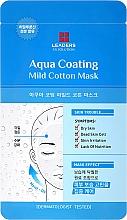 Parfumuri și produse cosmetice Mască de față - Leaders Ex Solution Aqua Coating Mild Cotton Mask