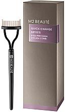 Parfumuri și produse cosmetice Perie pentru gene - M2Beaute Quick-Change Artists High Precision Eyelash Comb