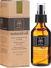 Parfumuri și produse cosmetice Compoziție uleiuri naturale - Apivita Organic oil blend