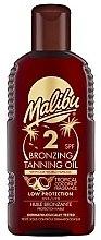 Parfumuri și produse cosmetice Ulei de corp - Malibu Bronzing Tanning Oil SPF 2