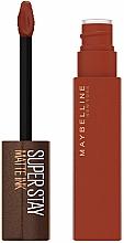 Parfumuri și produse cosmetice Ruj mat de buze - Maybelline New York Super Stay Matte Ink Coffee Edition Liquid Lipstick