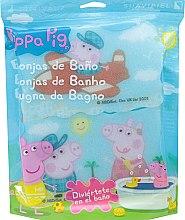 """Parfumuri și produse cosmetice Set bureți de baie """"Peppa Pig"""" 3 buc, călătorie aeriană - Suavipiel Peppa Pig Bath Sponge"""