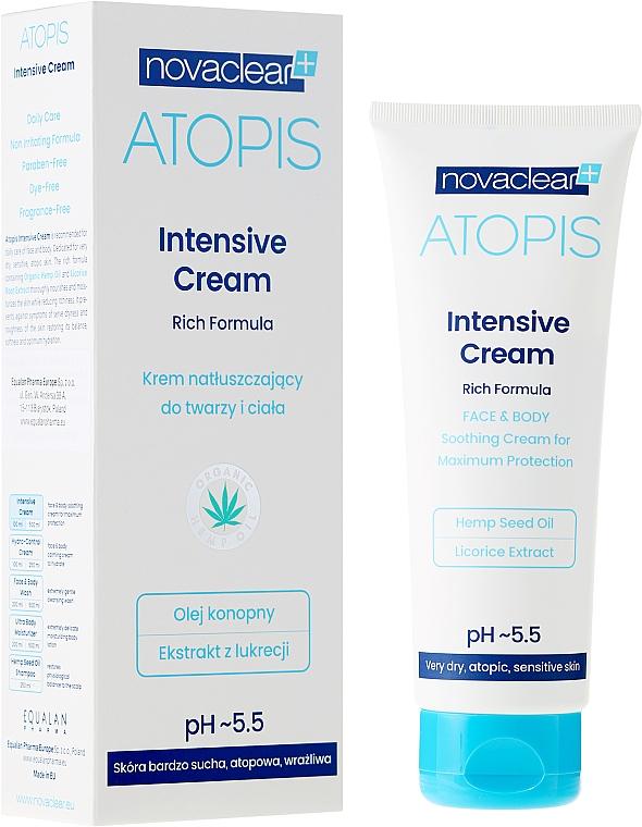 Cremă pentru față și corp - Novaclear Atopis Intensive Cream