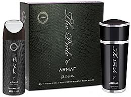 Parfumuri și produse cosmetice Armaf The Pride Pour Homme - Set (edp/100ml + deo/spray/200ml)