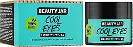 "Parfumuri și produse cosmetice Patch-uri lichide sub ochi ""Cool Eyes"" - Beauty Jar Liquid Eye Patches"