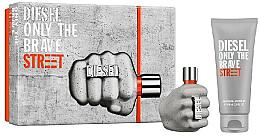 Parfumuri și produse cosmetice Diesel Only The Brave Street - Set (Edt/35ml + Sh/gel/50ml)