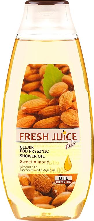 Ulei de duș Migdale dulci - Fresh Juice Shower Oil Sweet Almond