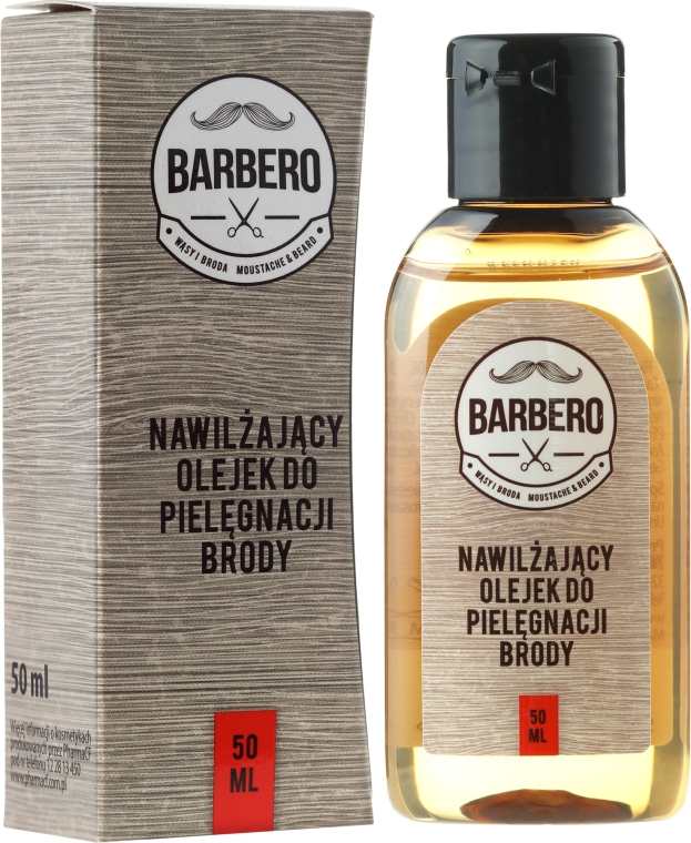 Ulei de hidratare pentru barbă - Barbero Beard Care Moisturizing Oil