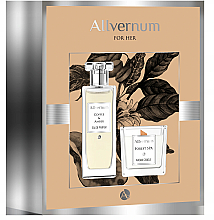 Parfumuri și produse cosmetice Allvernum Coffee & Amber - Set (edp/50ml + candle/100g)