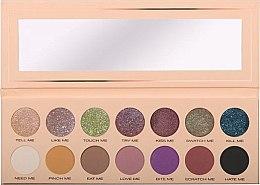 Parfumuri și produse cosmetice Paletă farduri de ochi, 14 nuanțe - Pierre Rene Palette Match System Eyeshadow Pinch Me