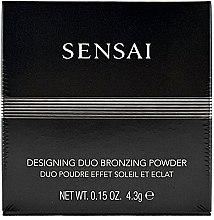 Pudră compactă cu efect de bronz - Kanebo Sensai Designing Duo Bronzing Powder — Imagine N1
