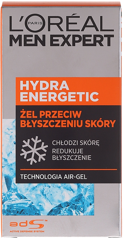 """Gel hidratant """"Efect glacial"""" - L'Oreal Paris Men Expert Hydra Energetic — Imagine N1"""