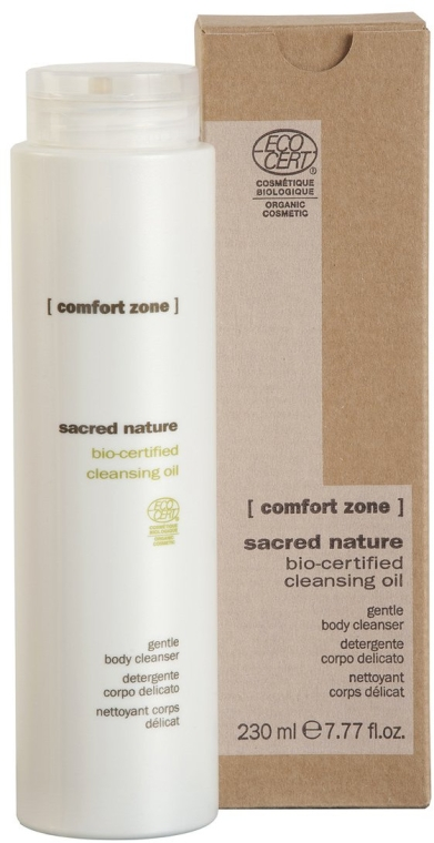 Ulei de curățare pentru corp - Comfort Zone Sacred Nature Bio-Certified Cleansing Oil — Imagine N1