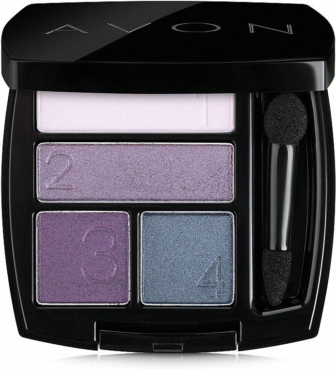 Fard de ochi - Avon True Color Eyeshadow Quad — Imagine N1